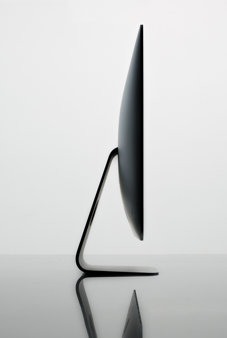 iMac on reflective table hilip Harvey Photography, San Francisco, California, still life, interiors, food, lifestyle and product photography