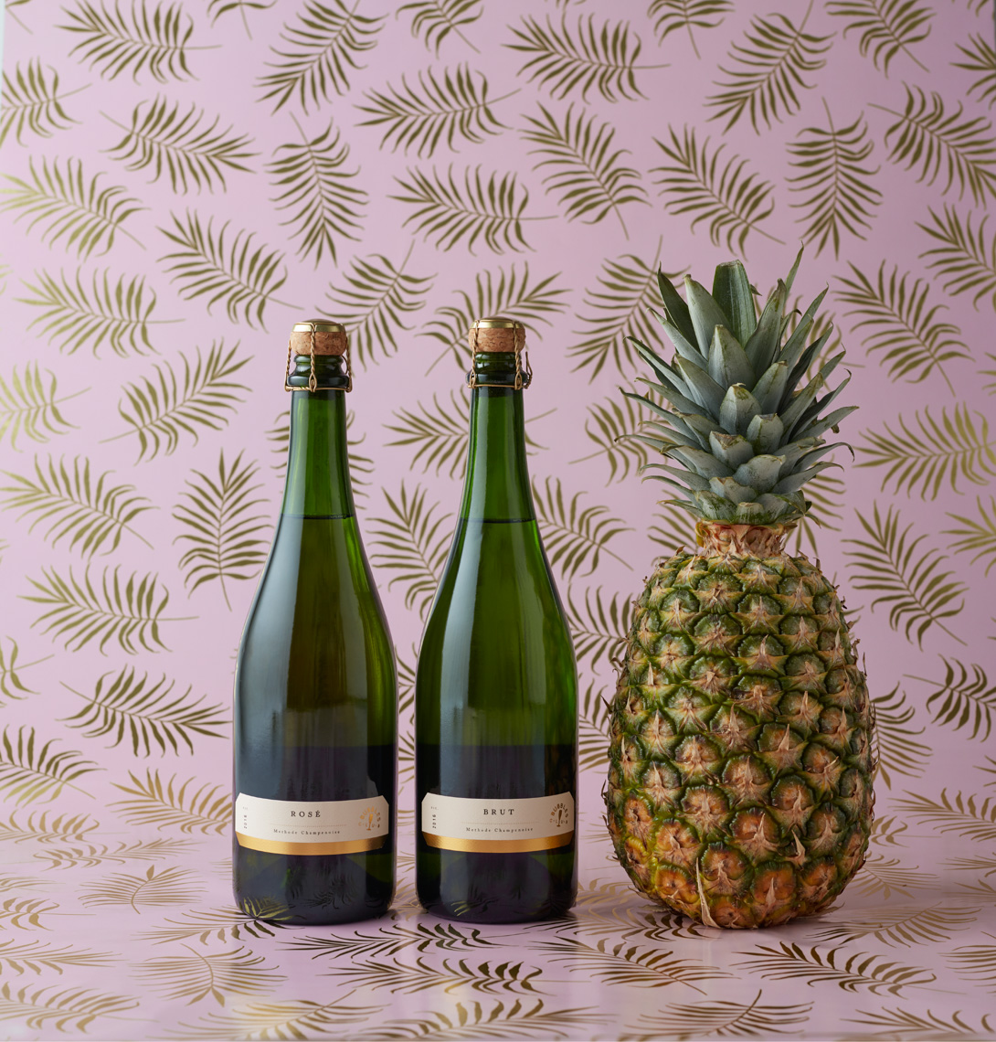 Sparkling wine with pineapple hilip Harvey Photography, San Francisco, California, still life, interiors, food, lifestyle and product photography