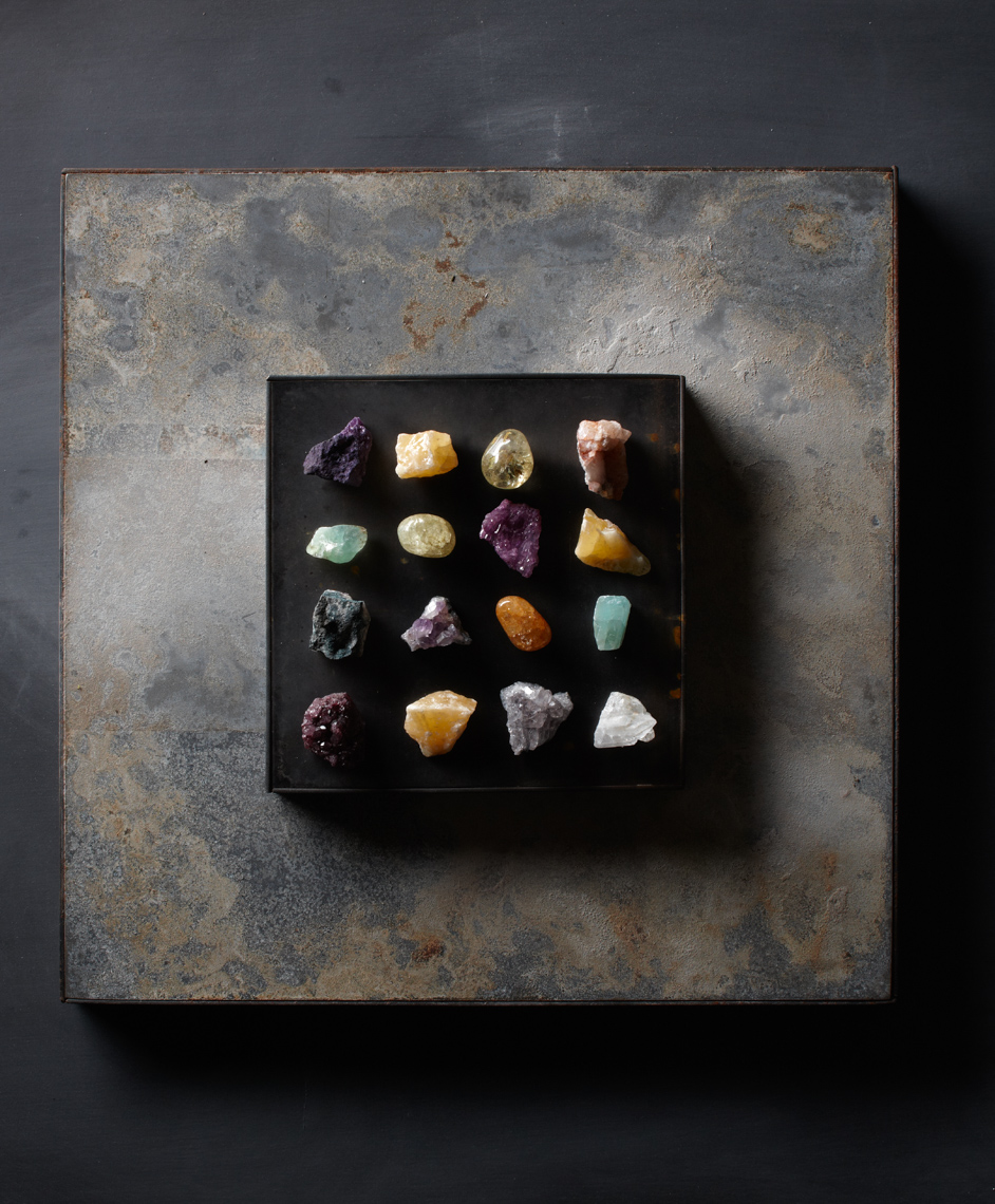 Rocks, colorful on tile Philip Harvey Photography, San Francisco, California, still life, interiors, lifestyle and product photography