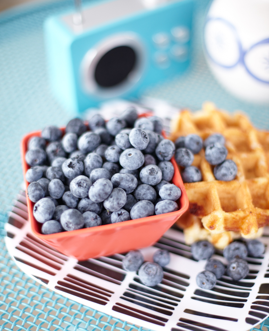 Blueberries and waffles Philip Harvey Photography, San Francisco, California, still life, interiors, lifestyle and product photography