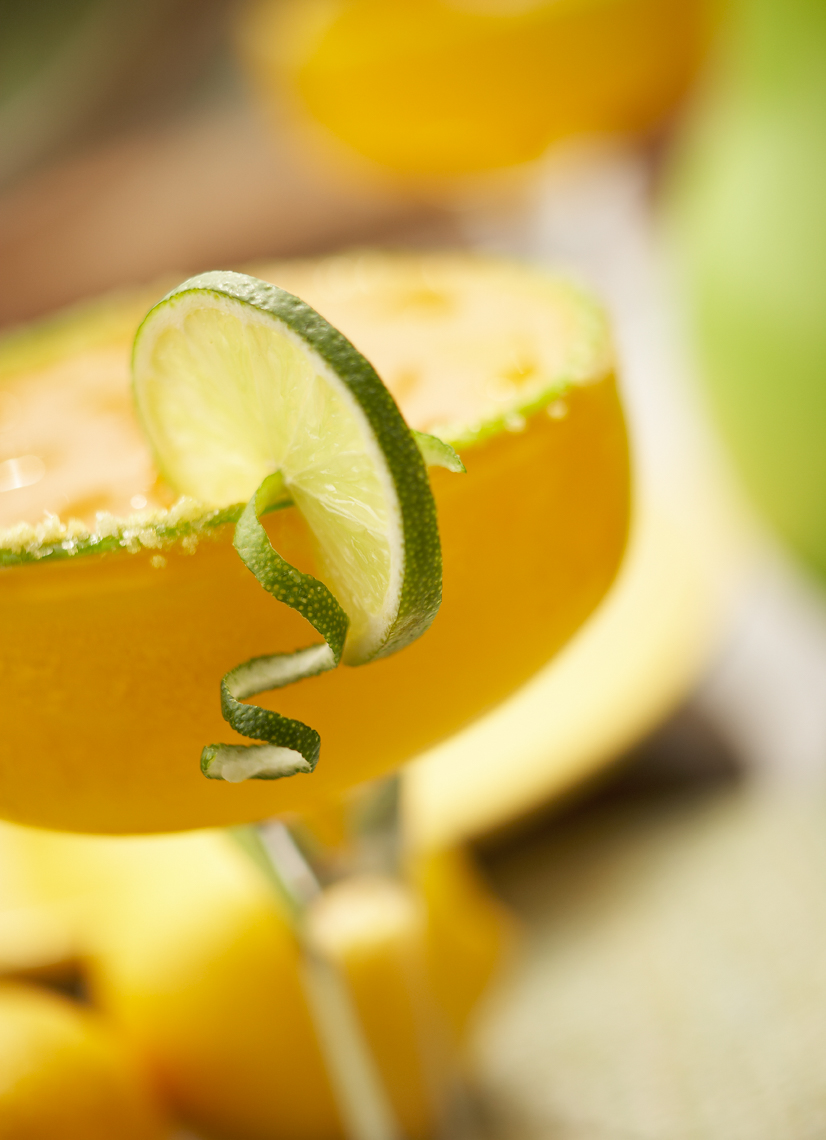 Iced margarita drink in glass with lime close up San Francisco lifestyle photographer